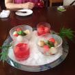 私の大好きなお店ヒロの江の心尽くしので夏のお料理です❣️