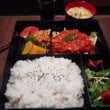 3回目。「一条屋」壱弐参横丁(いろは横丁)内で限定10食ランチ