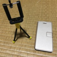 三脚とiPhoneケース