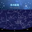 宇宙から冬の星座を見る