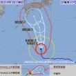 手っ取り早い台風の進路予報の見方とその他いろいろ