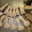 箸置きの製作