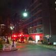 2017年9月24日午後8時過ぎ、月島三丁目内での消防車複数台出動の件。無事、大火なし。