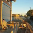 『 NAGI sotobo (Nagaya shop/Apartment®128/Guest House/Isumi) 』は、そーっと・・・ウッドデッキ工事&WEBサイト製作入りました!