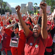 米教員ストが大勝利 公教育破壊に歴史的反撃