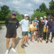 新潟シティマラソンコース予行練習