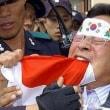 精神異常反日国家韓国&交通事故忍者