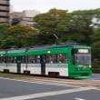 1回乗って2回撮影(苦笑) 広島電鉄3950形