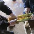 伝統工芸の継承 しめ縄作り その1