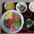 目指せ1日30食材の食卓💕6色どんぶり