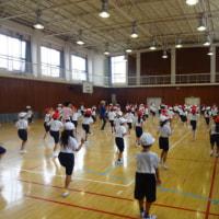 運動会の練習 1・2年生