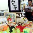 「移動」テーマ、障害者の作品多彩に 京都で展示印刷用画面を開く