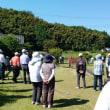 好天のグラウンド・ゴルフ大会