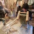 ロッキングタイプあぐら正座いす あぐら正座椅子 アンダルシアスツールSH400の座編み教室
