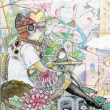 荻達魚展-狂想社会の窓-2018年10月3日(水)〜10月10日(水) 会期中無休10月6日(土)15時〜パーティ!