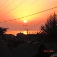 東日本大震災から7年に
