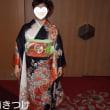 30.12.9出張着付は堺市美原区、花嫁の母、留袖の着付依頼でした。