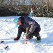 「ワカサギ釣り場」の氷の状況・・・Ⅱ
