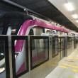 インドの首都デリーの地下鉄、マゼンタラインが全線開通。
