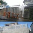 「検査済証」 建築や安全を確認するうえでとても大切です。浜松市中区幸の土留工事の検査済証!