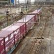 横浜羽沢駅と建設中の駅