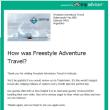 南極の旅行代理店からメール、懐かしい