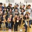 2017年度 1年サックス合奏授業終了❣️❣️