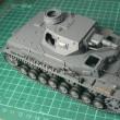 あんこうチーム Ⅳ号戦車D型(リニューアル版) 作ります !!  その10