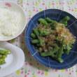 9/15舞茸のバター炒めで夕ご飯