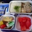 中国東方航空の機内食を食った