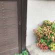 倉敷市玉島阿賀崎で玄関門の柱入替え工事計画