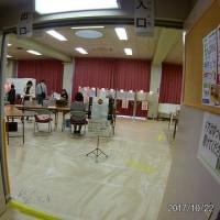 ●投票に行ってきました、、雨風の中を・・( ,,・ิω・ิ,, )