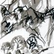 白い花の咲く頃(4)「木下夕爾の句碑」 [詩人・伊藤冬留のエッセイと画人・高見乾司の風景素描によるコラボ]