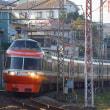 2017年12月16日 小田急 町田  LSE 7004F はこね8号