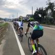 レース班練 48・5km  東山インターバル練から、 おはサイ 道光高原〜山古志ツーリング 73・5km。