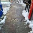 雪でも仕事に行きます🎵