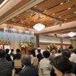 丹羽雄哉氏の旭日大綬章受賞を祝う会に参加しました。