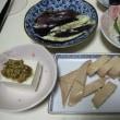イカの粕漬(函館製)、秋刀魚の干物(沼津製)、牛肉ごぼうの時雨煮(柿安)