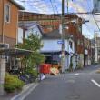 大阪市生野区鶴橋4丁目と3丁目の間の風景