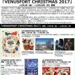 ヴィーナスフォート クリスマス フェスタ2017