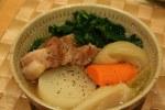 豚カタロース肉と根菜の中華煮込み(ぶたかたろーすにくとこんさいのちゅうかにこみ)