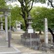 稲荷神社と石浜貝塚