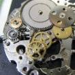シチズンの自動巻き時計を修理です