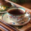 ロイヤル・ウースターでお茶の時間
