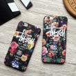 Stussy IPhone7ケース ステューシー 個性的 レディース カコイイ花柄 お洒落 IPhone7ジャケット カバー