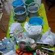台風13号来襲 自宅二階に避難