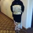 29.9.23  2件目の出張着付は川崎市のI様、吹田の千里阪急ホテルでの留袖着付とヘアメイク2名でした。