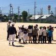 6/16(土)「勇気㊗️」野球体験教室12名参加🌼