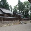 平泉寺白山神社に続いて長滝白山神社と白山中居神社に参拝