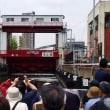 工事の為水のエレベーターは9月まで【三越前集合】東京5大運河探検クルーズ